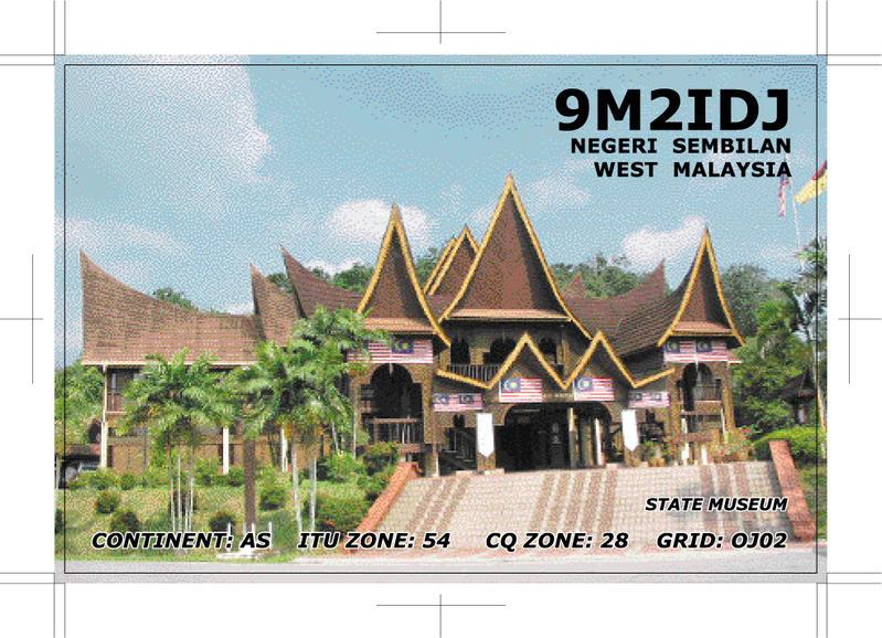QSL image for 9M2IDJ
