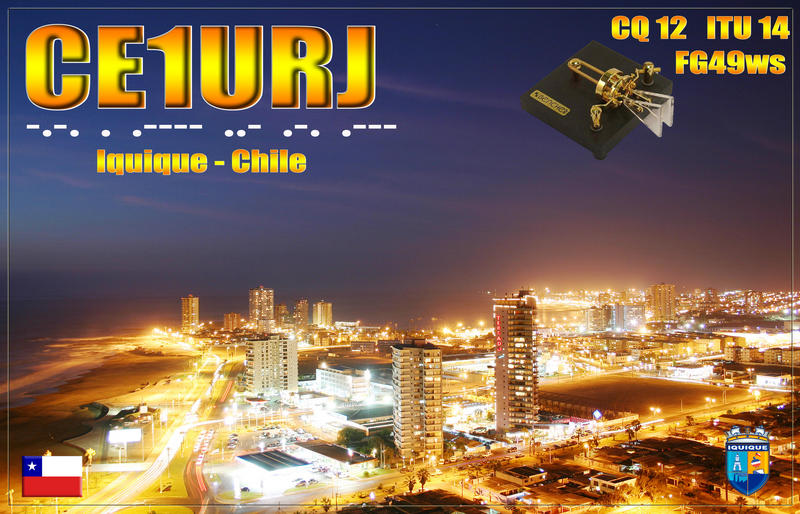 QSL image for CE1URJ
