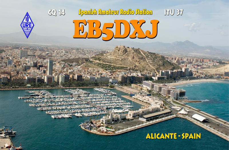 QSL image for EB5DXJ