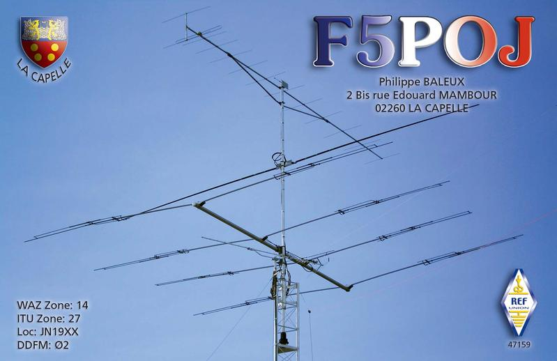 QSL image for F5POJ
