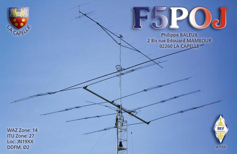 QSL image for F5POJ