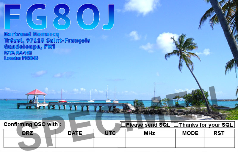 QSL image for FG8OJ