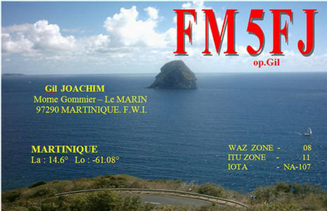 QSL image for FM5FJ