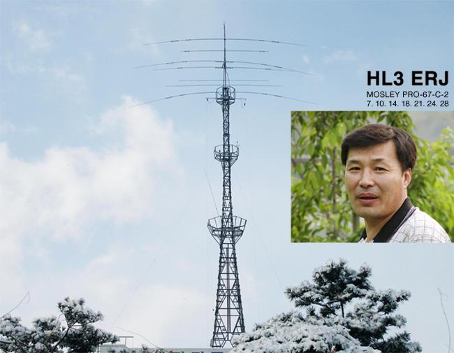 QSL image for HL3ERJ