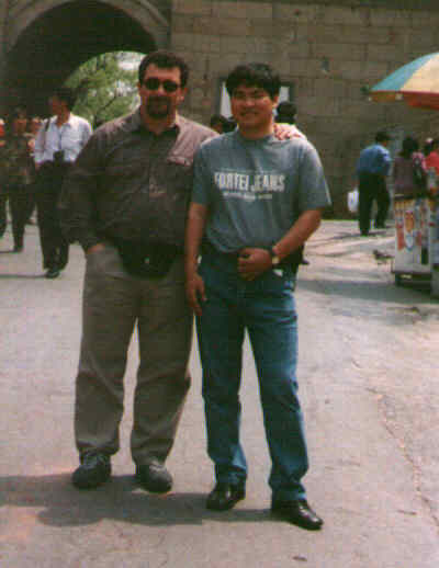 With Haiqing at the Wall's Gate - Beijing/China