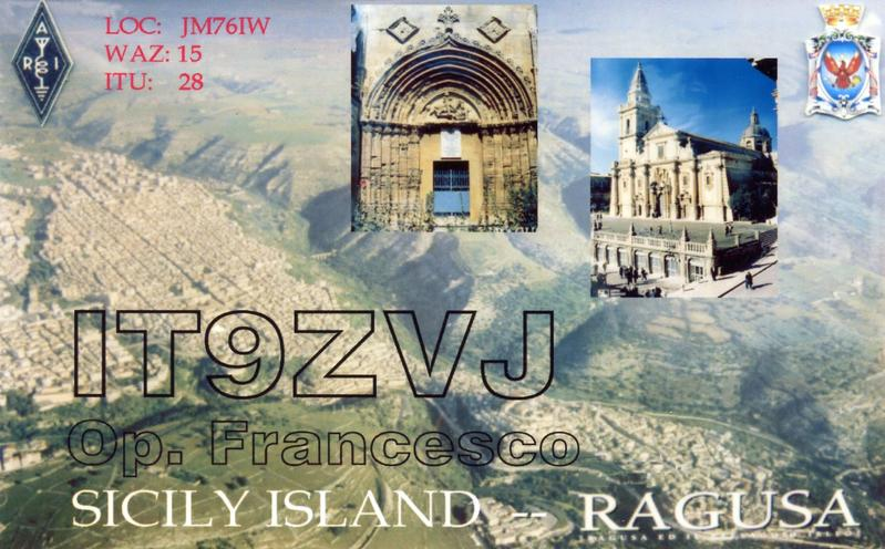 QSL image for IT9ZVJ