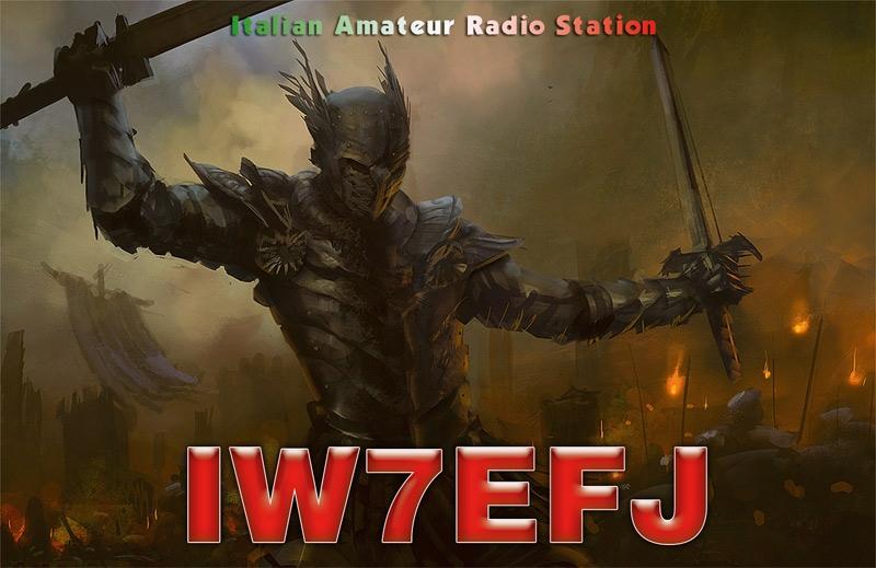 QSL image for IW7EFJ