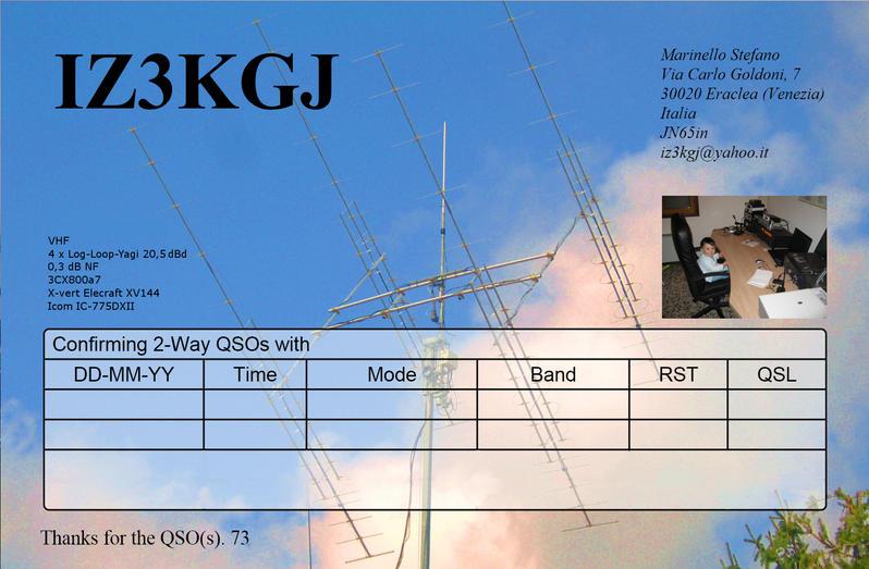 QSL image for IZ3KGJ