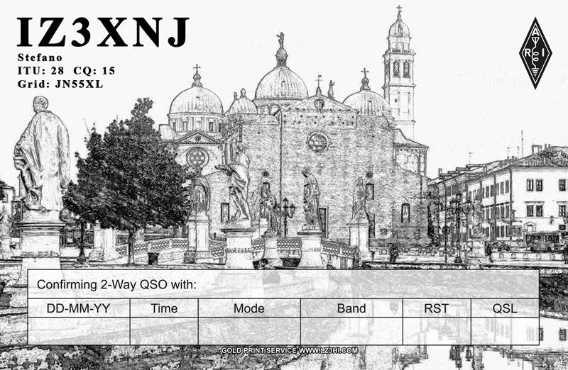 QSL image for IZ3XNJ