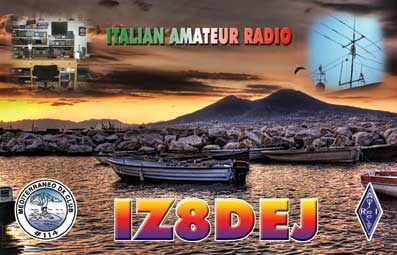 QSL image for IZ8DEJ