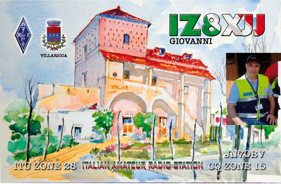 QSL image for IZ8XJJ