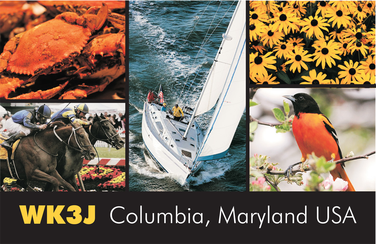 QSL image for WK3J