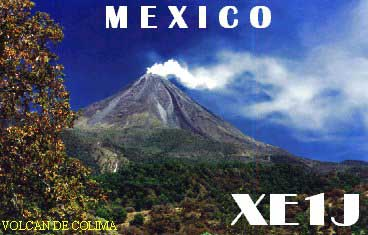 QSL image for XE1J