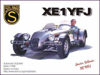 QSL image for XE1YFJ