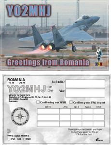 QSL image for YO2MHJ