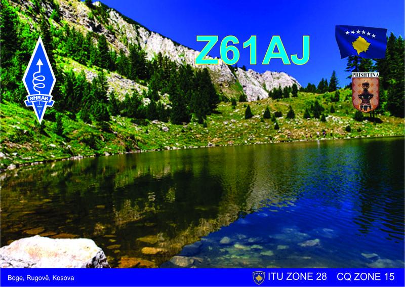 QSL image for Z61AJ