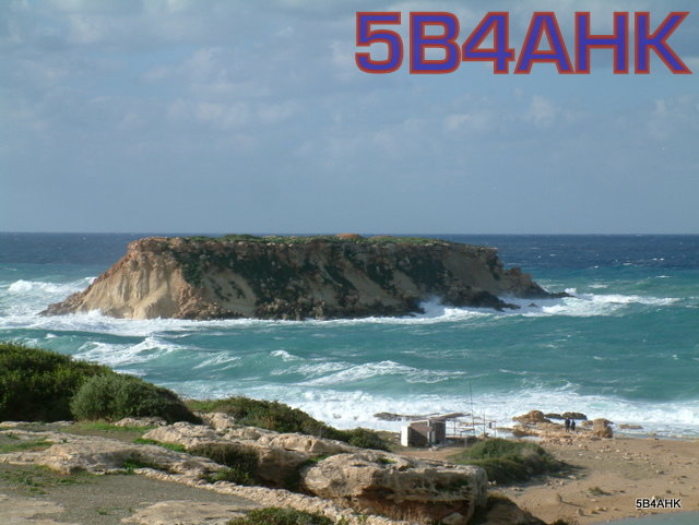 QSL image for 5B4AHK