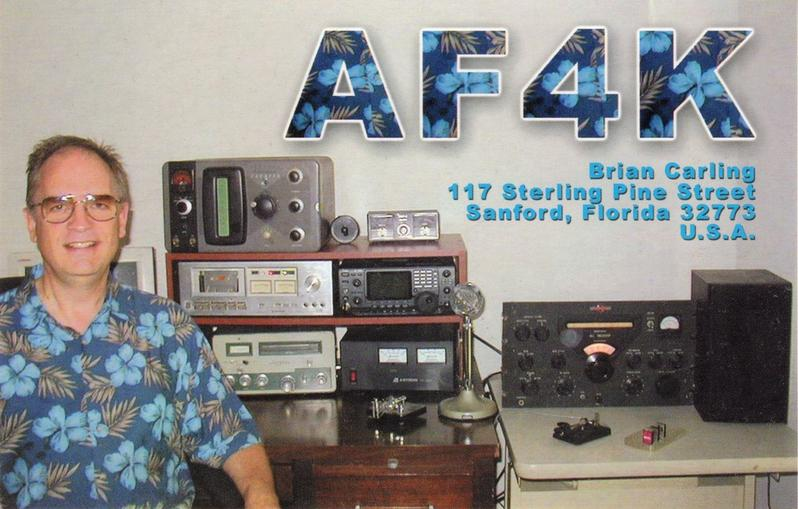 QSL image for AF4K