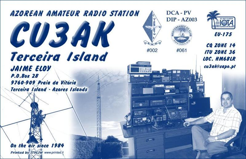 My 2nd QSL