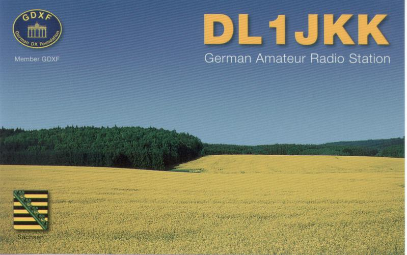 QSL image for DL1JKK
