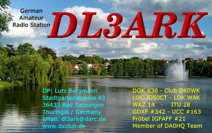 QSL image for DL3ARK