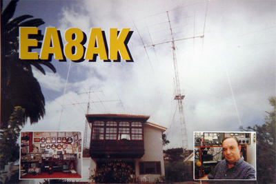 QSL image for EA8AK