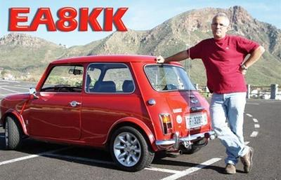 QSL image for EA8KK