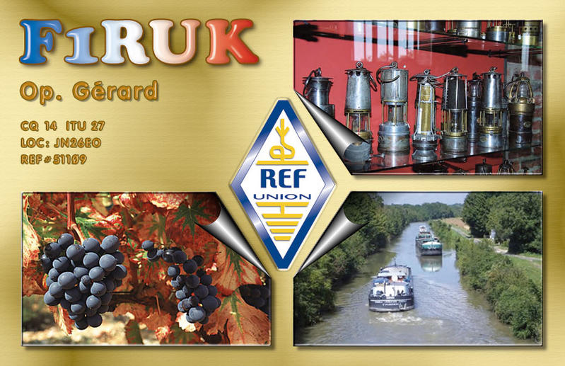 QSL image for F1RUK