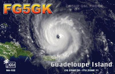 QSL image for FG5GK