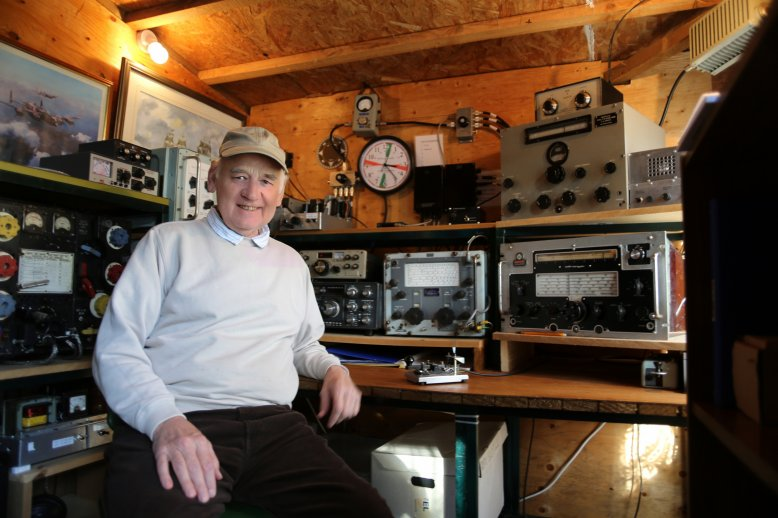THE VINTAGE SHACK WITH VINTAGE OPERATOR