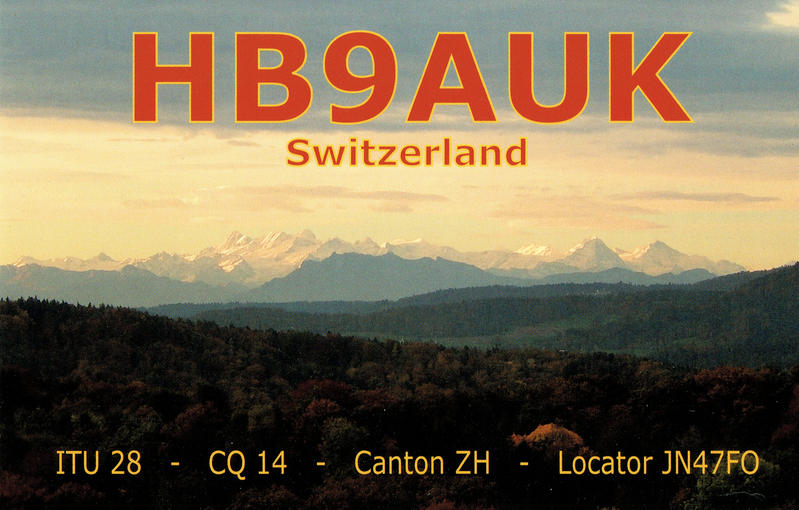 QSL image for HB9AUK