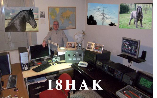 QSL image for I8HAK