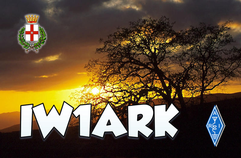 QSL image for IW1ARK