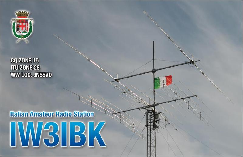 QSL image for IW3IBK