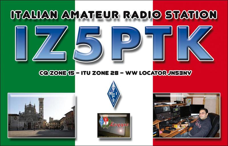 QSL image for IZ5PTK