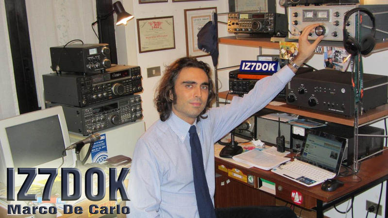 QSL image for IZ7DOK