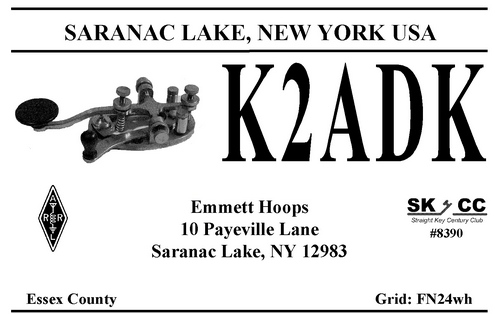 QSL image for K2ADK