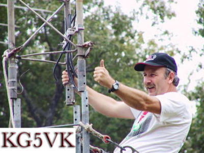QSL image for KG5VK