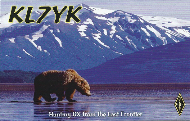 QSL image for KL7YK