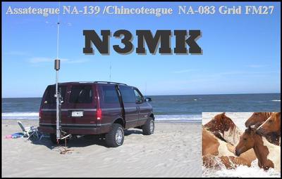 QSL image for N3MK