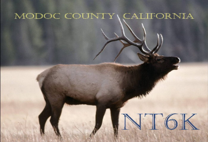 QSL image for NT6K