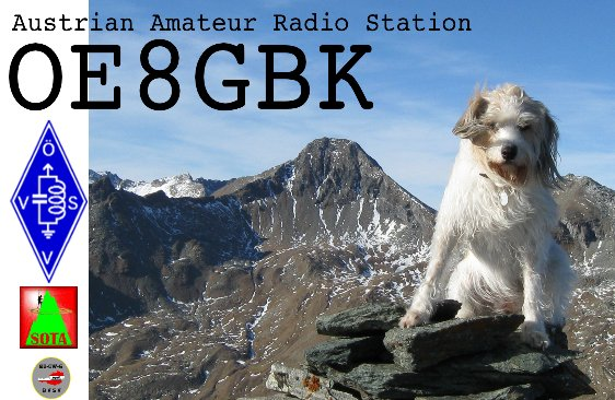 QSL image for OE8GBK