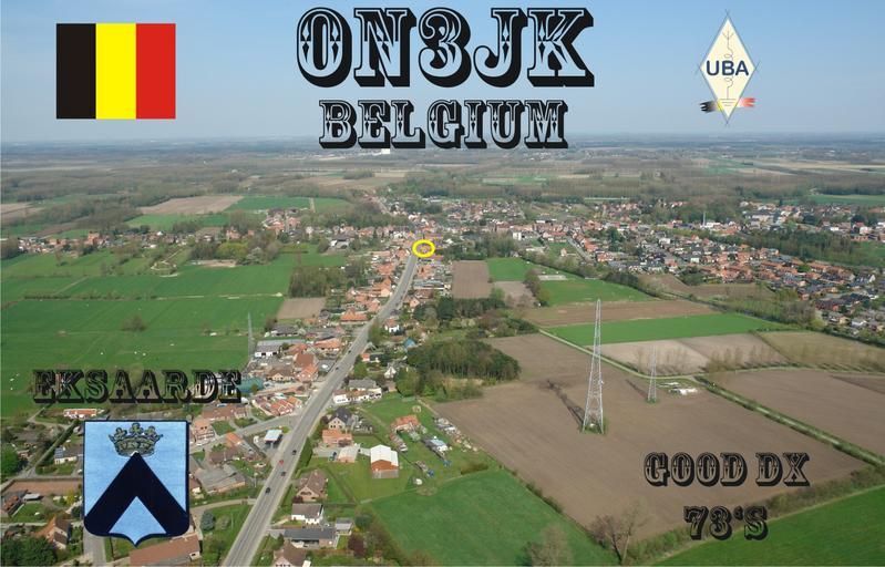 QSL image for ON3JK