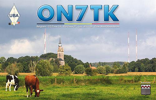 QSL ON7TK v5