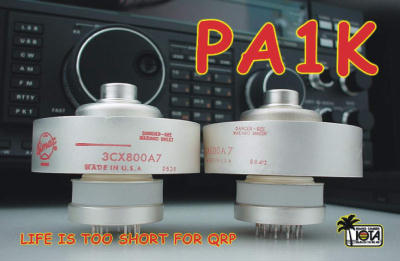 QSL image for PA1K