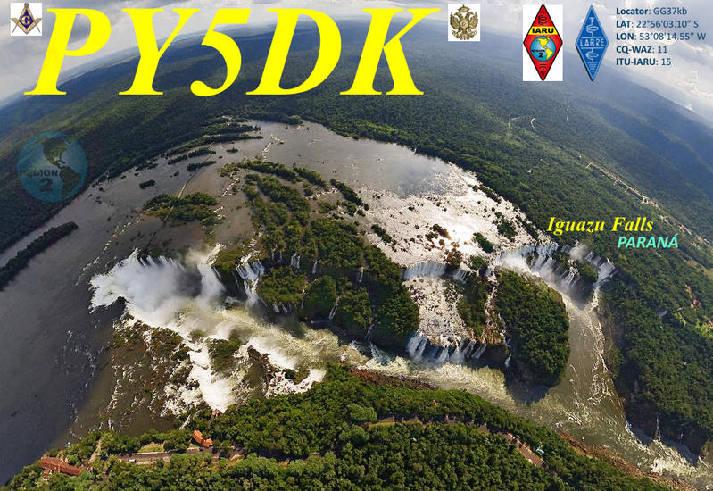 QSL image for PY5DK