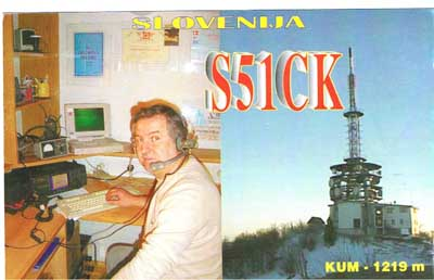 QSL image for S51CK