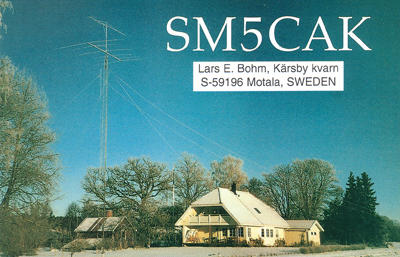 QSL image for SM5CAK