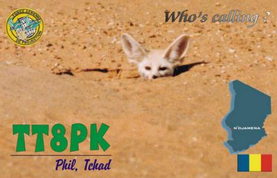 QSL image for TT8PK