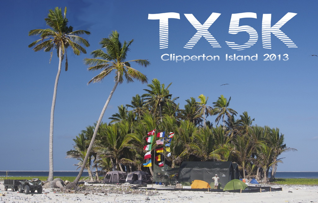 QSL image for TX5K